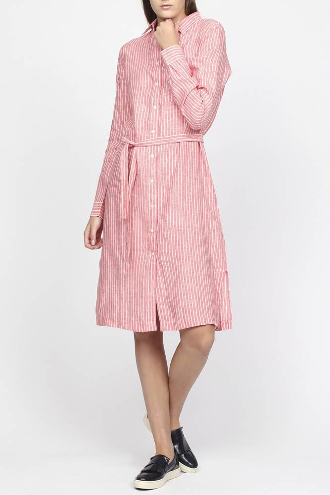 Šaty Gant O2. Striped Linen...