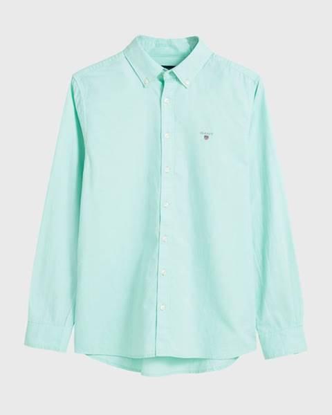 Zelená košile gant