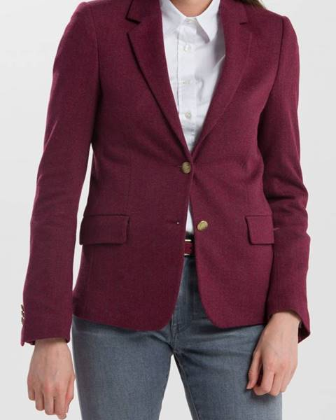 Červené sako gant