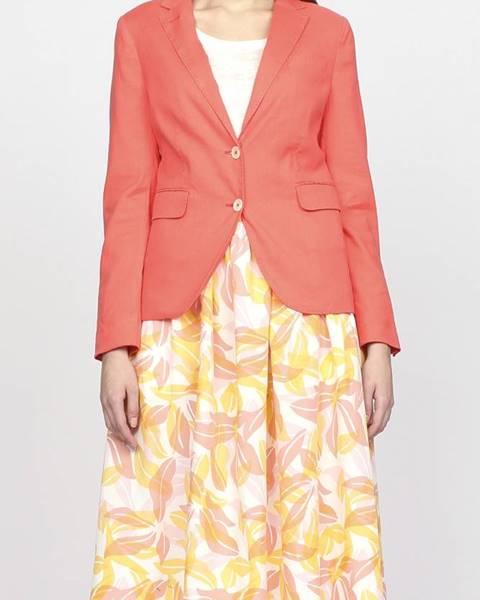 Růžové sako gant