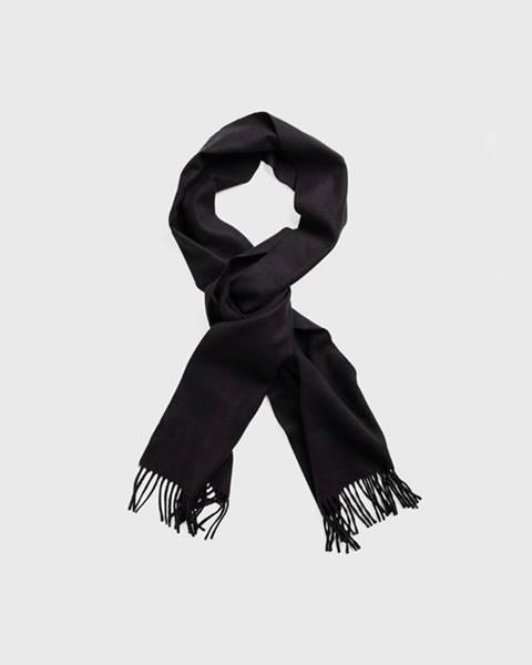 Černá šála gant