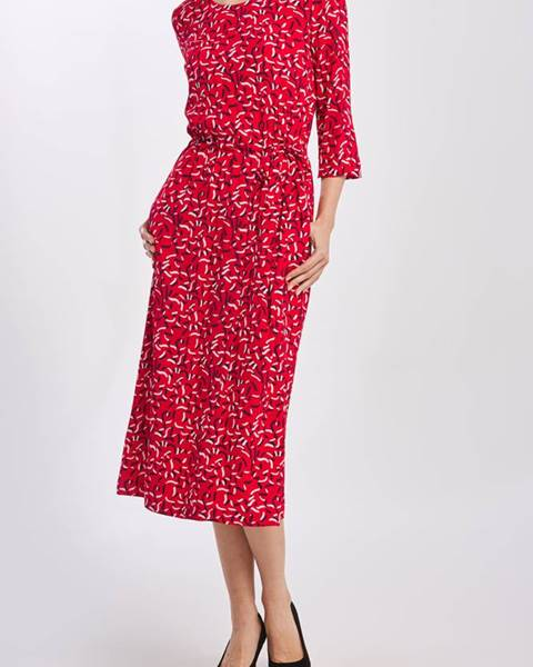 Červené šaty gant