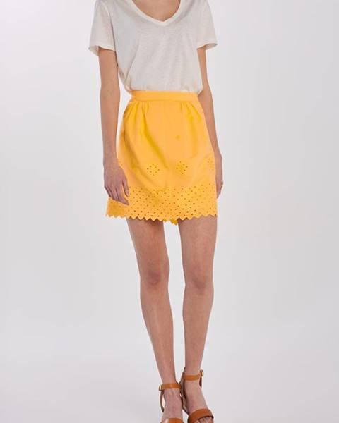 Žlutá sukně gant