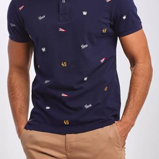 Polokošile  D1. French Embroidery Ss Pique
