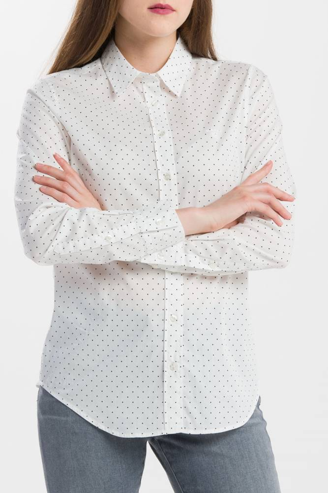 gant Košile Gant O1. Polkadot Stretch Broadcloth