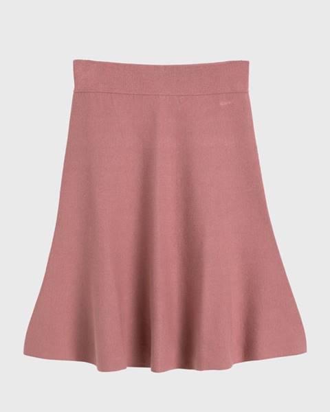 Růžová sukně gant