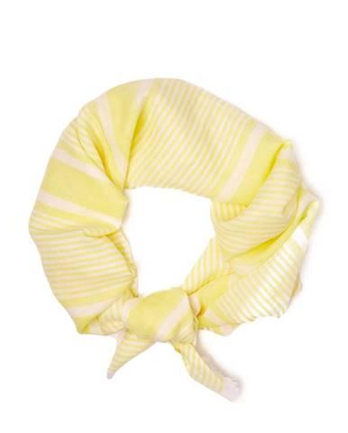 Žlutá šála gant