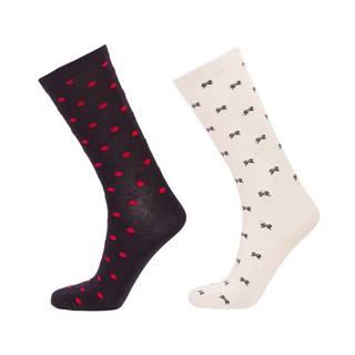 Ponožky  D1. Dot And Bow Sock Gift Box