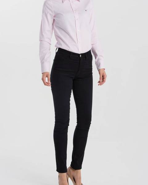 Černé kalhoty gant