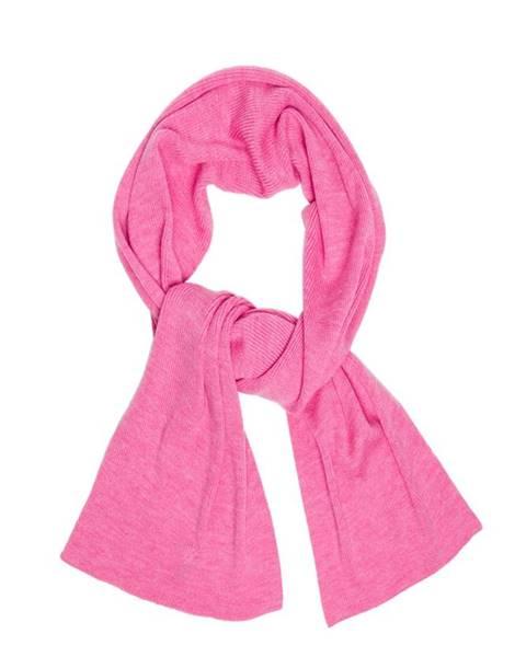Růžová šála gant