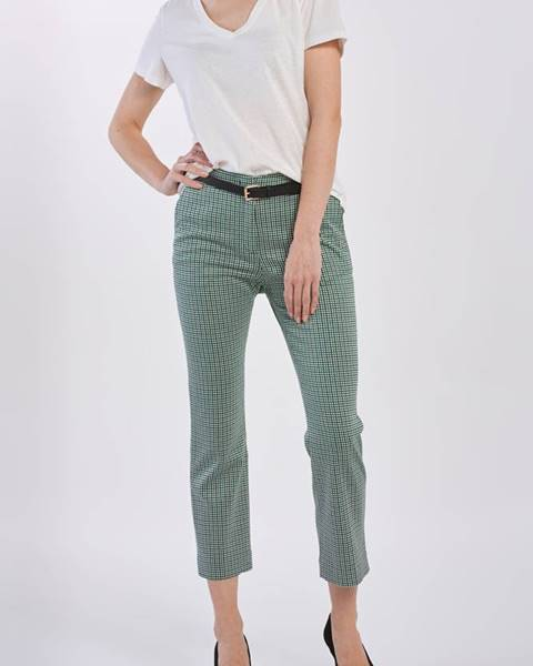 Zelené kalhoty gant
