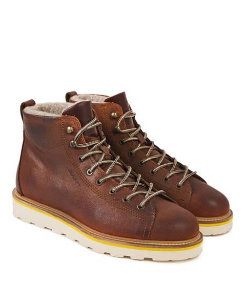 Hnědé boty gant
