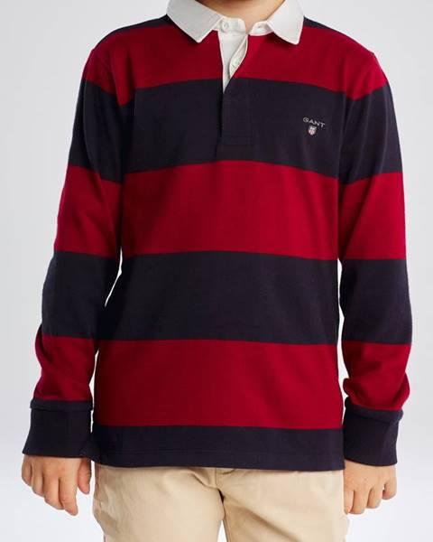 Červená košile gant