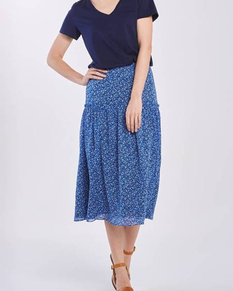 Modrá sukně gant