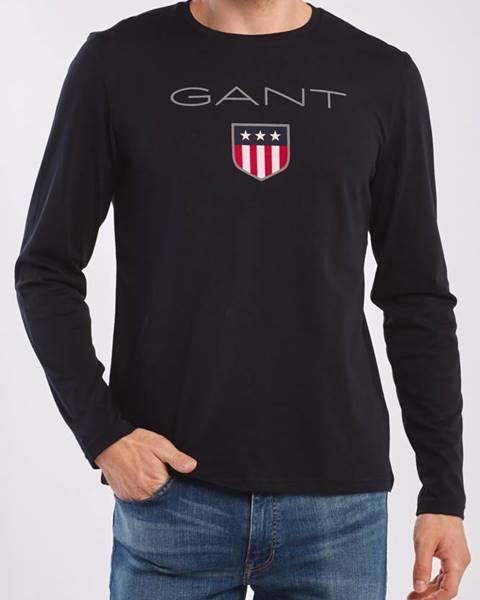 Černé tričko gant