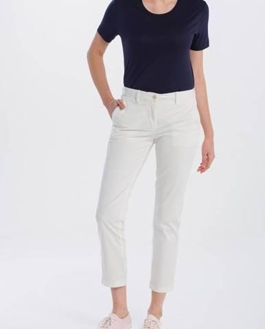 Bílé kalhoty gant