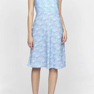 Šaty Gant G1. Printed Flared Dress