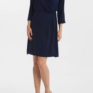 Šaty Gant G1. Solid Wrap Dress