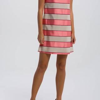 Šaty  O2. Satin Stripe Dress