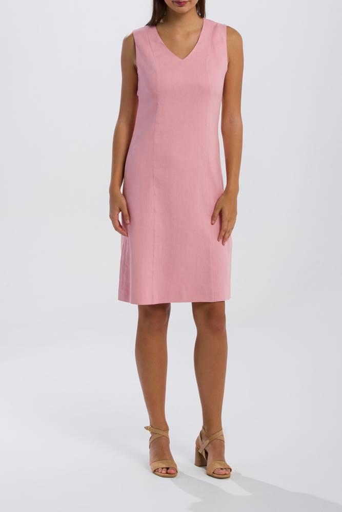 gant Šaty  O2. Stretch Linen Dress