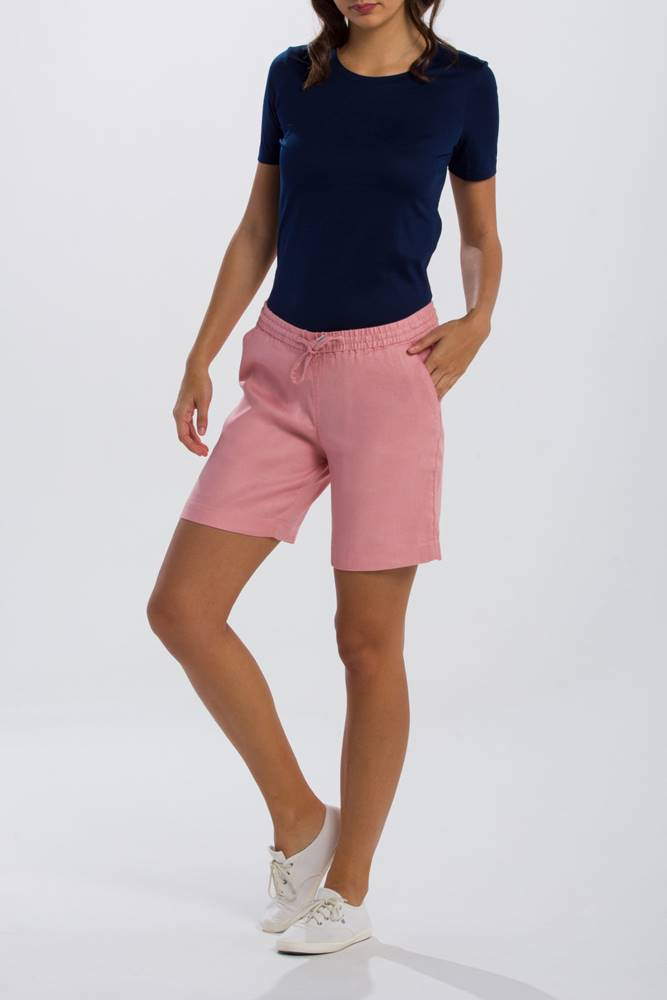 gant Šortky Gant O2. Summer Linen Shorts