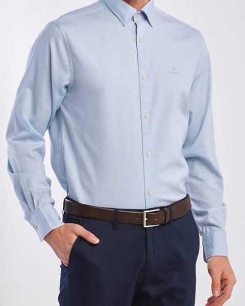 Modrá košile gant