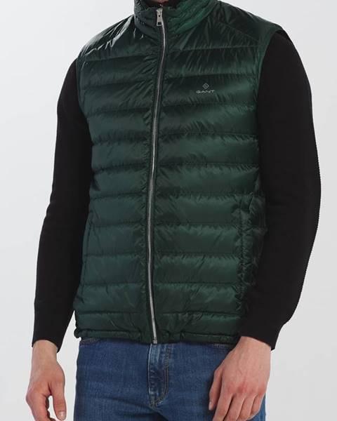 Zelená vesta gant