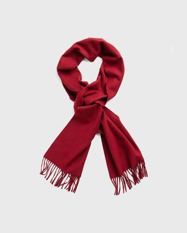 Červená šála gant