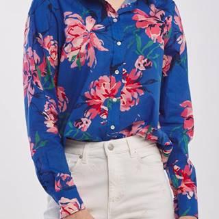 Košile  D1. Peonies Cotton Voile Shirt