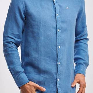 Košile  D2. Garment Dyed Linen Reg Bd