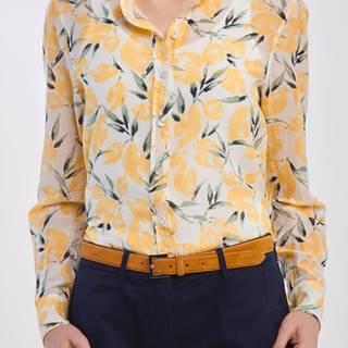 Košile  D2. Lemon Cotton Silk Shirt