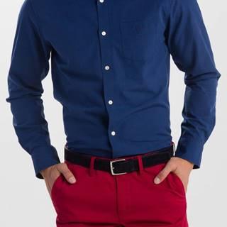 Košile Gant O1. Tp Indigo Solid Slim Bd