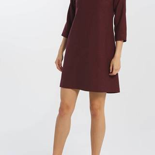 Šaty  D1. Washable Str Wool A-Line Dress