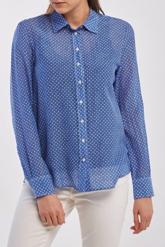 gant Košile  D2. Signature Cotton Silk Shirt