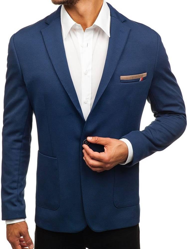 RIPRO Modré pánské sako