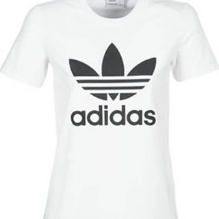 adidas Trička s krátkým rukávem TREFOIL TEE Bílá