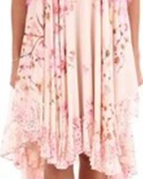 Růžové šaty Twin Set