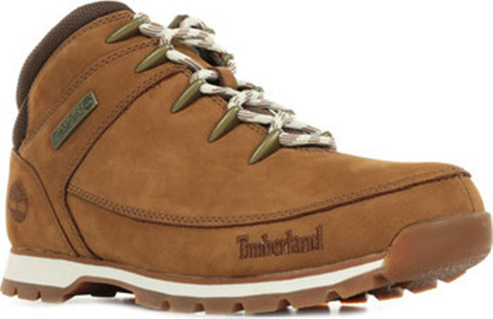 Timberland Timberland Kotníkové boty Euro Sprint Hiker Hnědá