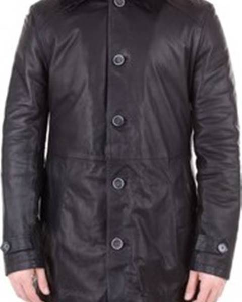 Černá bunda Emanuele Curci