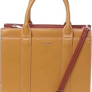 David Jones Kabelky Malá dámská kabelka do ruky žlutá - Akiba Žlutá