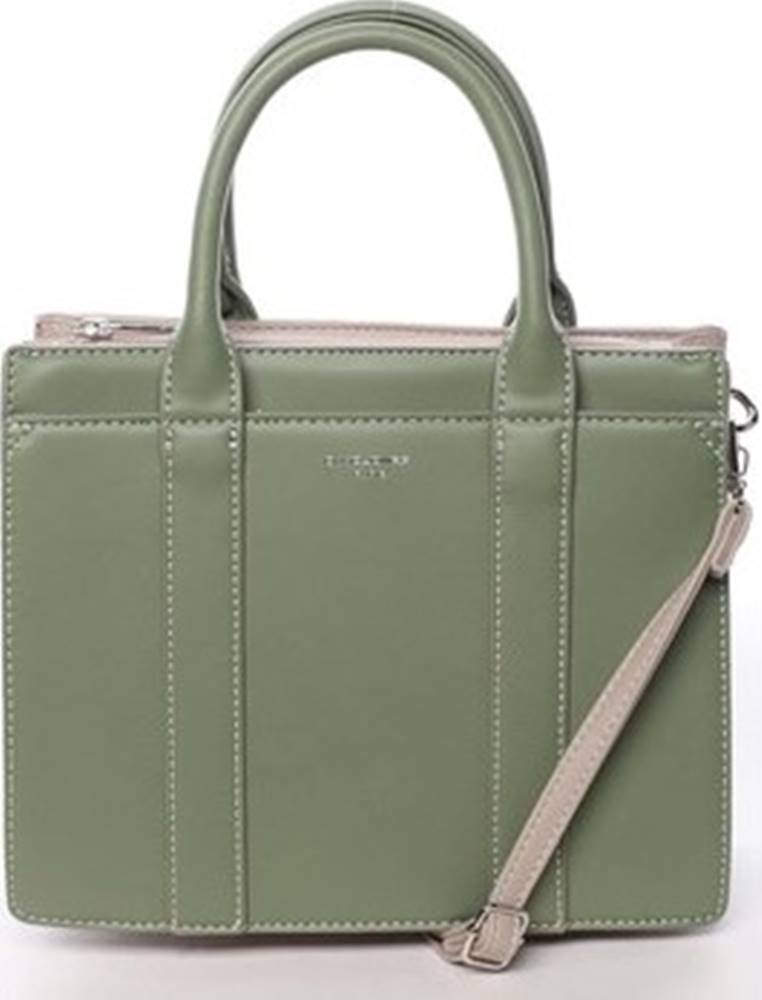 David Jones David Jones Kabelky Malá dámská kabelka do ruky zelená - Akiba Zelená