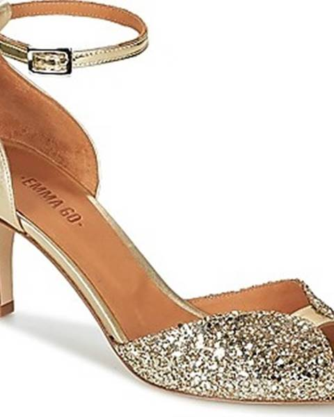 Zlaté sandály Emma Go
