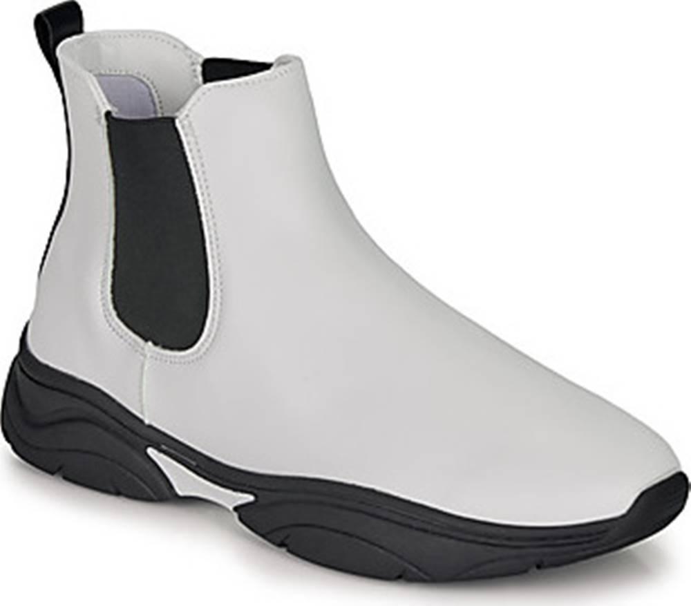 André André Kotníkové boty BILLIE Bílá