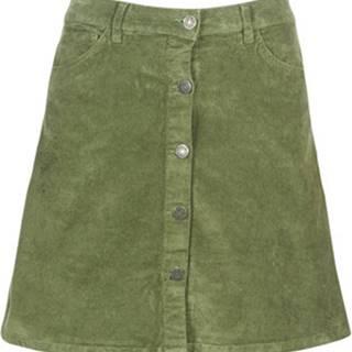 Noisy May Krátké sukně NMSUNNY Khaki