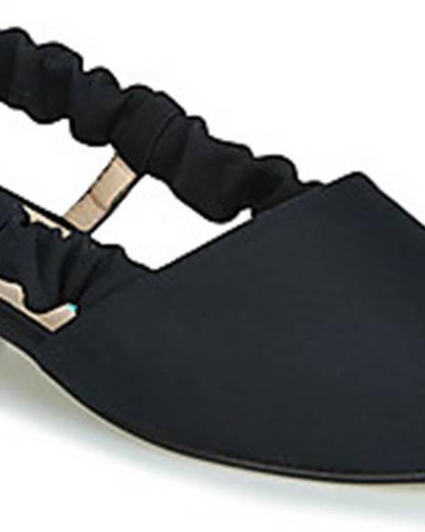 Černé sandály Paco Gil