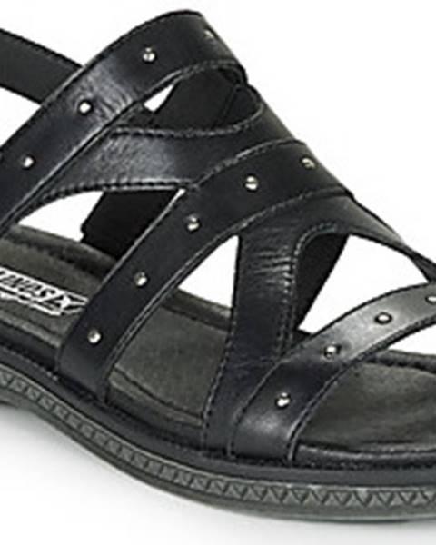 Černé sandály Pikolinos