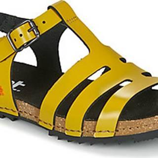 Art Sandály CRETA Žlutá
