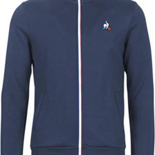 Le Coq Sportif Teplákové bundy ESS FZ SWEAT N°2 M Modrá