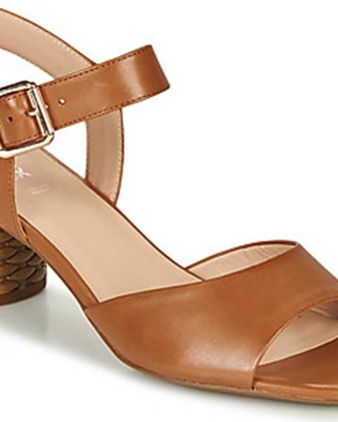 Hnědé sandály geox