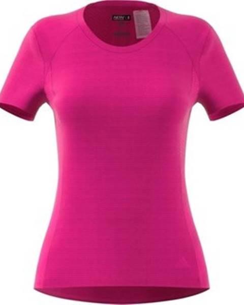 Růžový top adidas